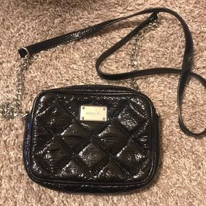 Small Michael Kors Black patent leather bag
